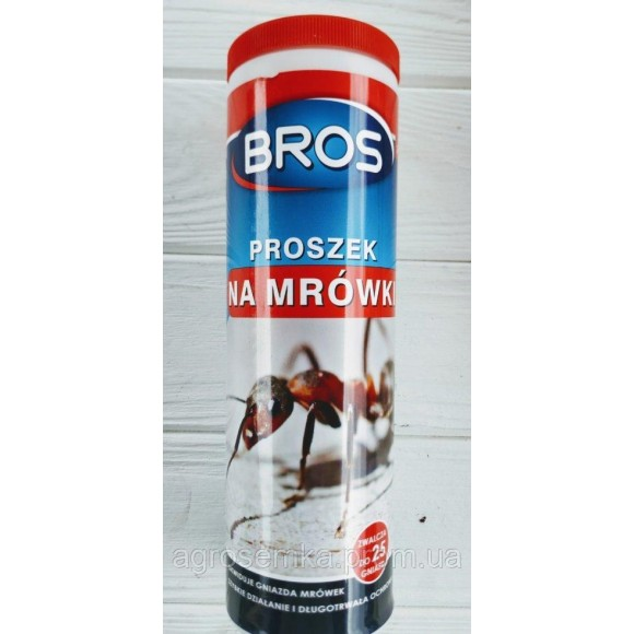 Інсектицидний порошок від мурах BROS Брос 250г Польща оригінал