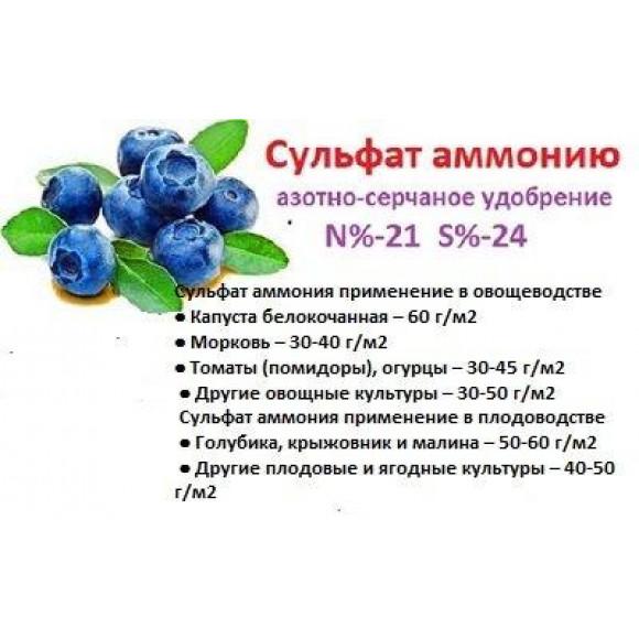 Добриво Сульфат Амонію N-21 S-24