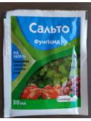 Фунгіцид Сальто 30мл захист плодових овочевих ягідних та плодових культур від бактеріальних захворювань