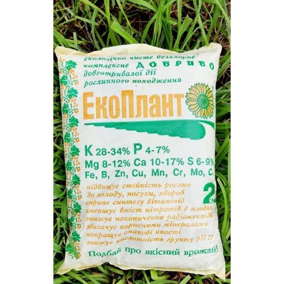 Комплексне безхлорне добриво ЭкоПлант 2 кг