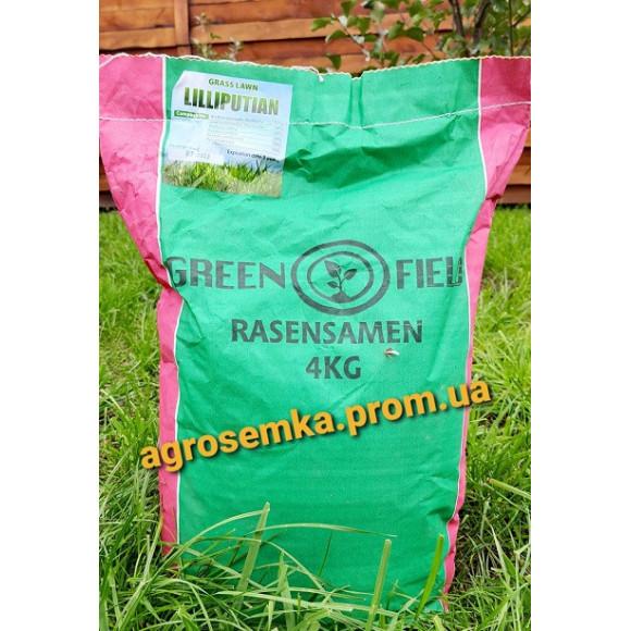 Насіння Газонна трава Ліліпут ТМ Green Field RasenSamen Україна 4 кг