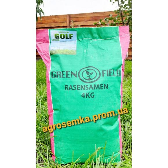 Насіння Газонна трава Гольф ТМ Green Field RasenSamen Україна 4 кг