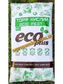 Кислий Торф для Лохини і Хвойників Eco Plus 20л