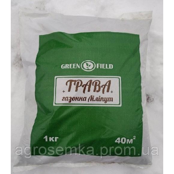 Газонна трава Ліліпут 1 кг Green Field RasenSamen Україна